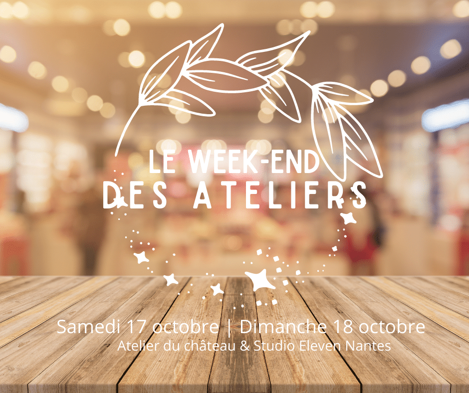 Le Week-end des Ateliers à Nantes en octobre